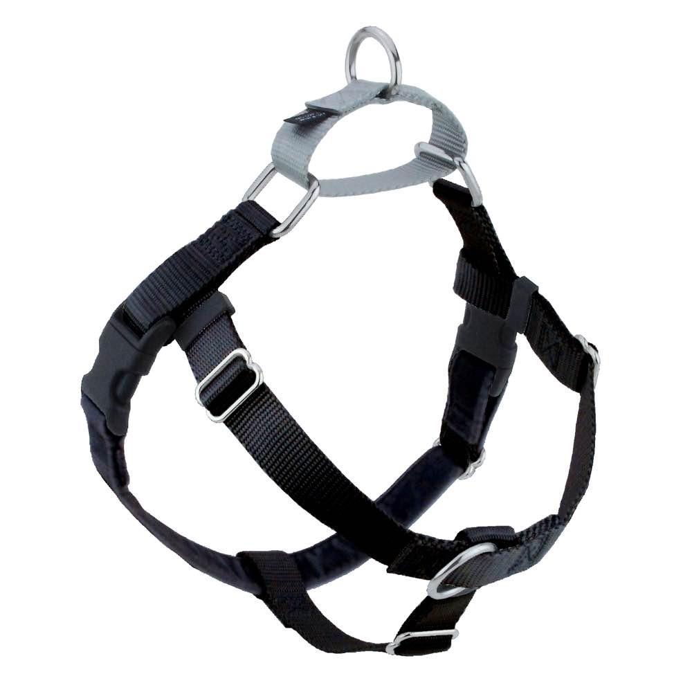 Black Freedom No-Pull Dog Harness