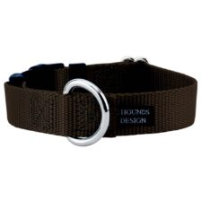 Brown Nylon Dog Collar