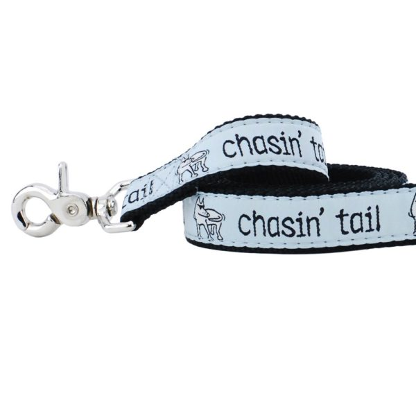 "1"" Chasin' Tail Teddy The Dog 5ft Essential Leash"