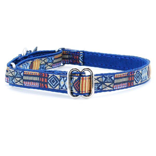 "5/8"" Tribal Blue - Limited Dog Collar"