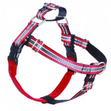 Reflective Red Freedom No-Pull Dog Harness